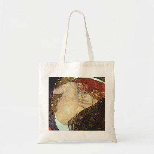 Klimt Danae Tote Bag