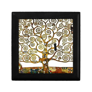 Klimt - el árbol del Vida-stoclet-friso Caja De Joyas