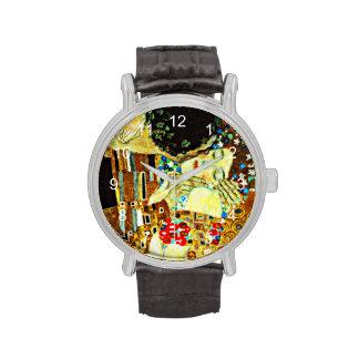 Klimt: El beso Relojes De Pulsera