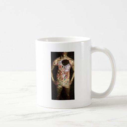 Klimt, el beso tazas