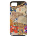 Klimt el caso del iPhone 5 del beso iPhone 5 Fundas