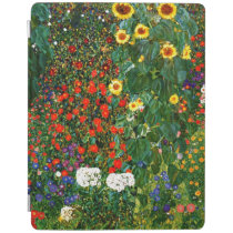 Klimt - Farm Garden with Sunflowers iPad Smart Cover