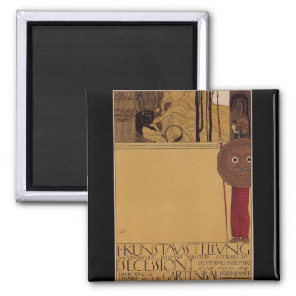 Klimt ~ first exhibition of Secession Magnet