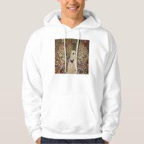 Klimt Garden With Roosters Hoodie