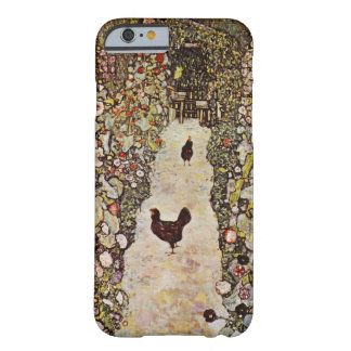 Klimt Garden With Roosters iPhone 6 case