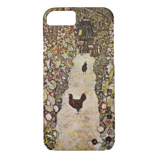Klimt Garden With Roosters iPhone 7 case