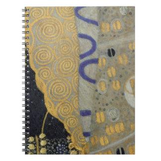Klimt Gold Art Nouveau Notebook
