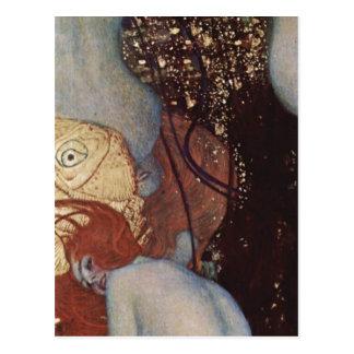¿Klimt, Goldfish Espa de Gustavo Goldfische? ol: C Tarjeta Postal