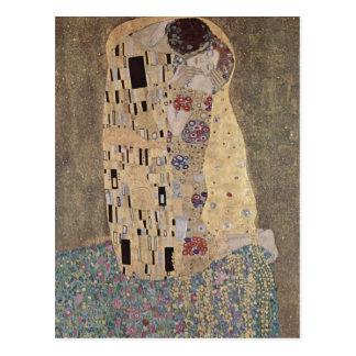 Klimt, Gustav Catal?: El pet? Der Ku? The Kiss Esp Postcard