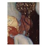 Klimt, Gustav Goldfische Goldfish Espa?ol: Carpa d Postcard