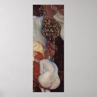 Klimt, Gustav Goldfish Poster