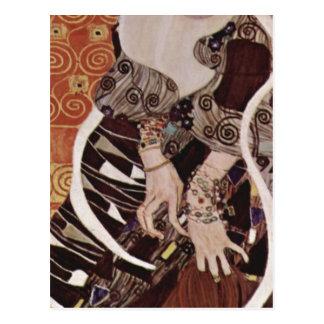 Klimt, Gustav Judith 1909 Technique ?l auf Leinwan Postcard