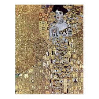 Klimt, Gustav Portr?t der Adele Bloch-Bauer 1907 T Postcard