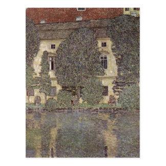 Klimt, Gustav Schlo? Kammer am Attersee 1910 Techn Postcard