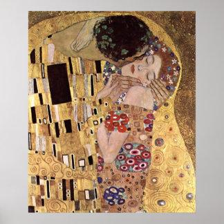 Klimt Gustav ~ The Kiss Poster