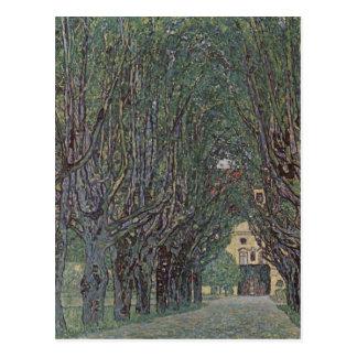 Klimt, Gustav Weg im Park von Schlo? Kammer 1912 T Postcard