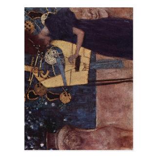 ¿Klimt, Gustavo muere la técnica 1895 de Musik? l  Tarjetas Postales