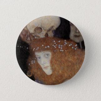 Klimt ~  Hope I  ( detail ) Button