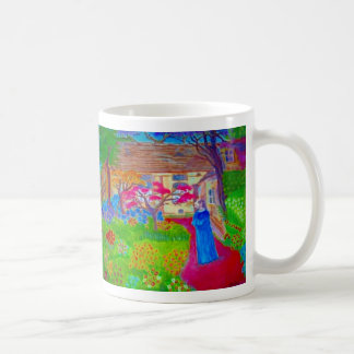 Klimt in His Garden by S Ambrose Coffee Mug
