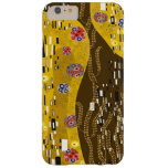 Klimt inspiró el arte Nouveau el beso i Funda Para iPhone 6 Plus Barely There