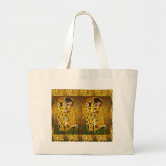 Klimt Kiss 2.gif Canvas Bags