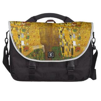 Klimt Kiss 2.gif Laptop Commuter Bag