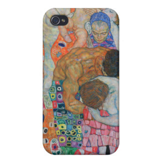 Klimt Life and Death Cases For iPhone 4