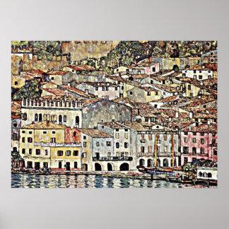 Klimt - Malcesine en el lago Garda Impresiones