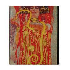 Klimt Medicine Hygieia Art case iPad Folio Cover