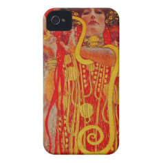 Klimt Medicine Hygieia Art iPhone case iPhone 4 Cases