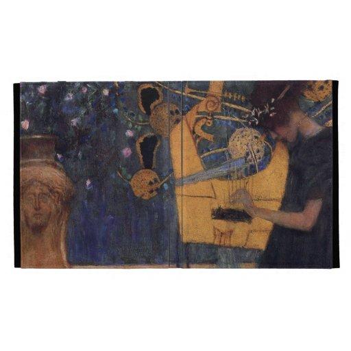 Klimt Music I Art case iPad Cases