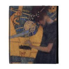 Klimt Music I Art case iPad Folio Covers