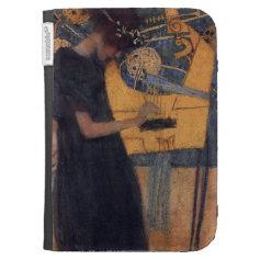 Klimt Music I Art case Kindle Folio Cases