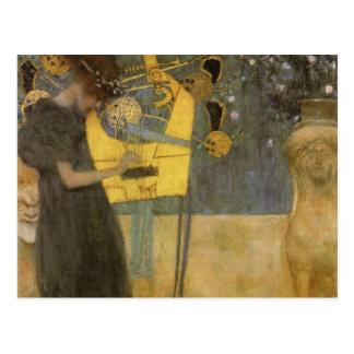 Klimt ~ Music Postcard