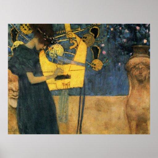 Klimt - música posters