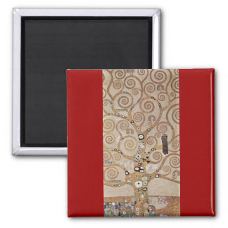 Klimt - Plant templates Stocletfries Refrigerator Magnet
