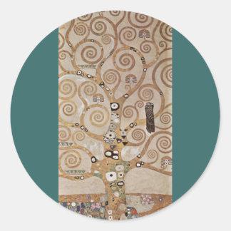 Klimt - plantillas Stocletfries de la planta Etiqueta