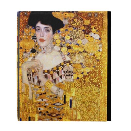 Klimt Portrait of Adele Bloch-Bauer I iPad case