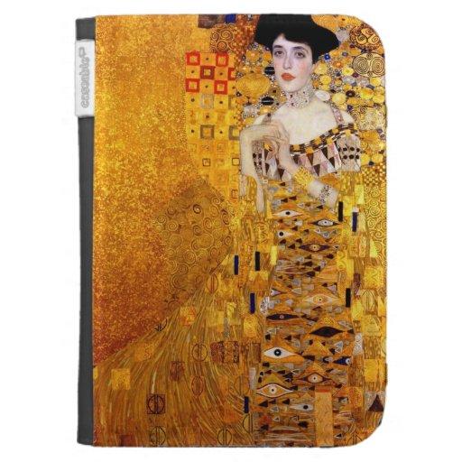 Klimt Portrait of Adele Bloch-Bauer I Kindle case