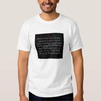Klimt reincarnated as a pixel T-Shirt