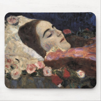 Klimt Ria Munk On Her Deathbed Mouse Pad