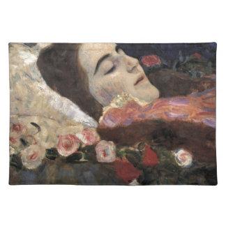 Klimt Ria Munk On Her Deathbed Placemat