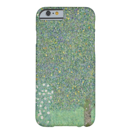 Klimt Rosebushes Under the Trees Barely There iPhone 6 Case