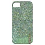 Klimt Rosebushes Under the Trees iPhone 5 Case