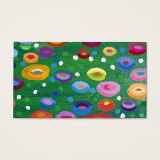 Klimt  spots business card