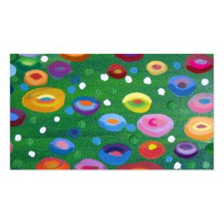 Klimt  spots business card template