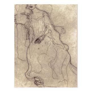 ¿Klimt sumario, Gustavo Studie f? ¿gema de r das?  Postales