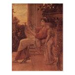 ¿Klimt, técnica 1888-1890 de Gustavo Sapho? l leus Tarjetas Postales