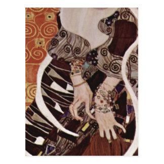 ¿Klimt, técnica 1909 de Gustavo Judith? l auf Lein Tarjetas Postales