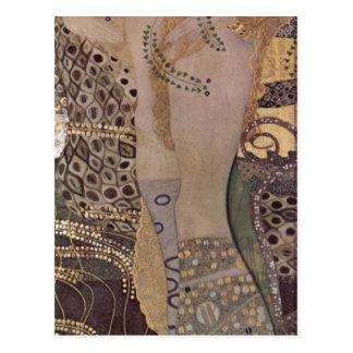 Klimt, Th de Gustavo Wasserschlangen I (Freundinne Tarjeta Postal